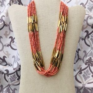 Seed Bead Necklace and Earring Set